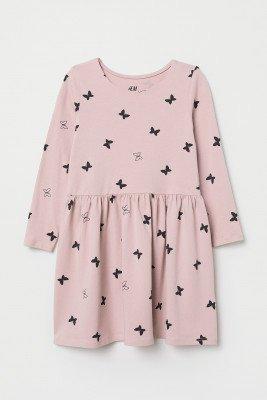 Платье с принтом бабочек