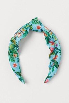 Обруч с тропическим принтом капсульная коллекция EMMA JAYNE x H&M