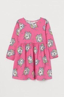 Платье с единорогами