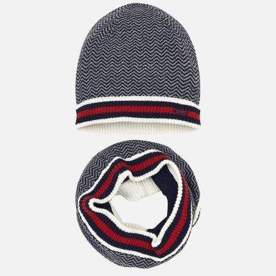 Комплект из шапки и снуда
