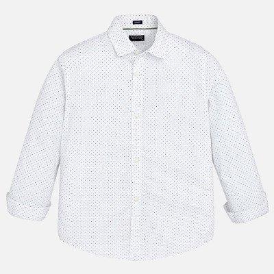 Рубашка классическая в мелкий принт