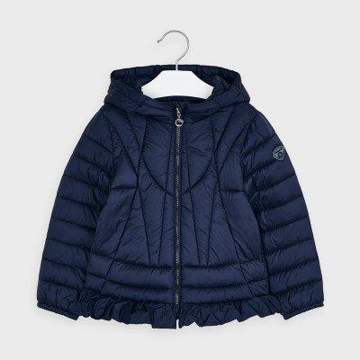Легкая куртка с оборкой