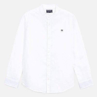 Рубашка из смеси льна