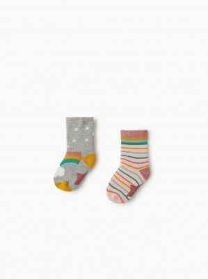 Носки с радугой, 2 пары