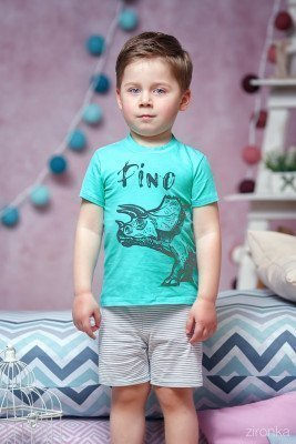 Пижама с дино на мальчика